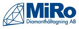 MiRo Diamanthåltagning AB
